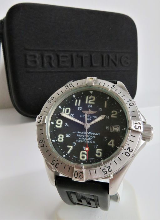 Breitling -  SuperOcean Professional Automatic 1500m - A17045 - Heren - 2000-2010