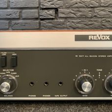 Revox - A78  - Stereo Integrated Amplifier - Amplifier