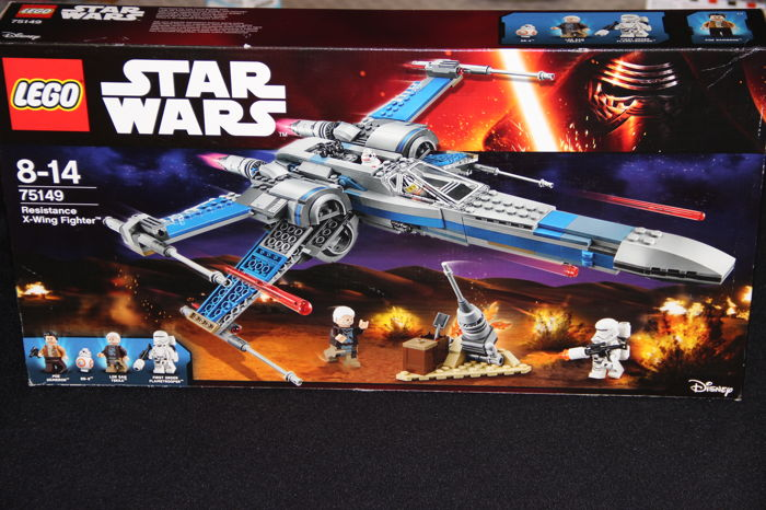 LEGO - Star Wars - 75149 - Spaceship Resistance X-wing Fighter