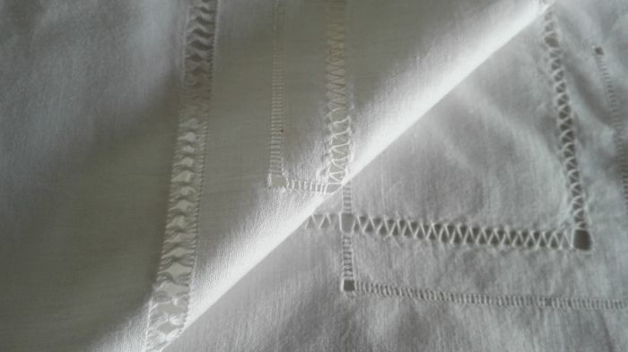 Pure linen sheet. All worked by hand. - Linen 100%