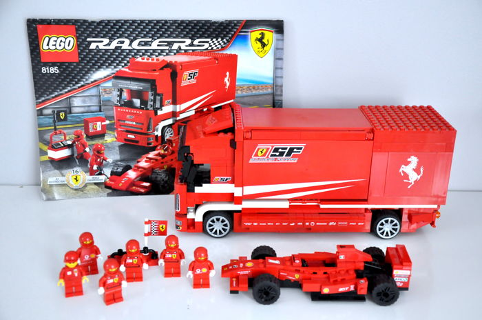 lego ferrari lkw formel 1 racers ferrari f1 euro. Black Bedroom Furniture Sets. Home Design Ideas