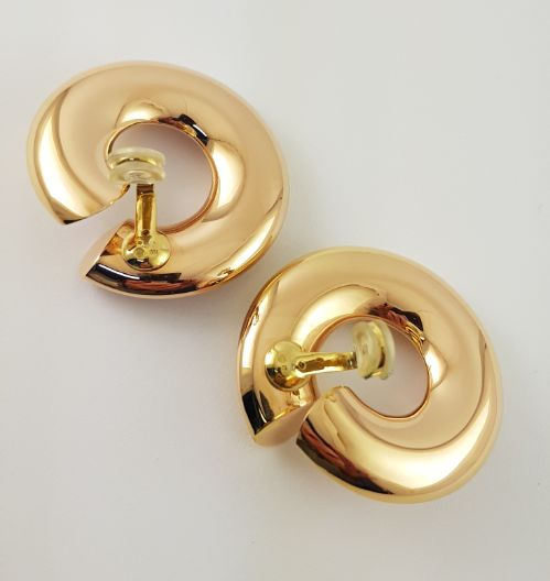 Max Pollinger, München - 18 kt. Yellow gold - Earrings