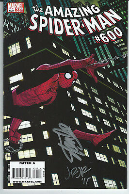 Marvel - Amazing Spider-Man #600 GIANT SIZED signed by Stan Lee and John  Romita Jr cover by John ROMITA Jr - First edition - (2009) - Catawiki
