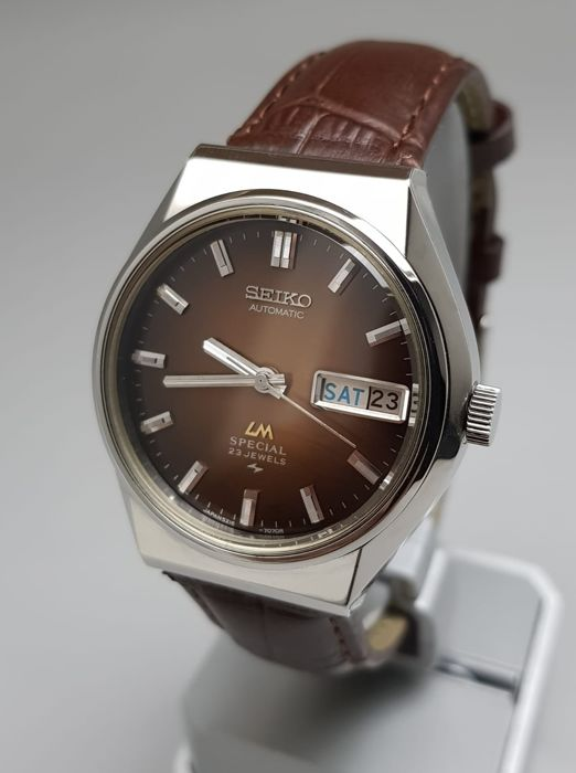 Seiko - 'NO RESERVE PRICE' Lord Matic SPECIAL Automatic Vintage 1975 Men - 5216-7070 - Homem - 1970-1979