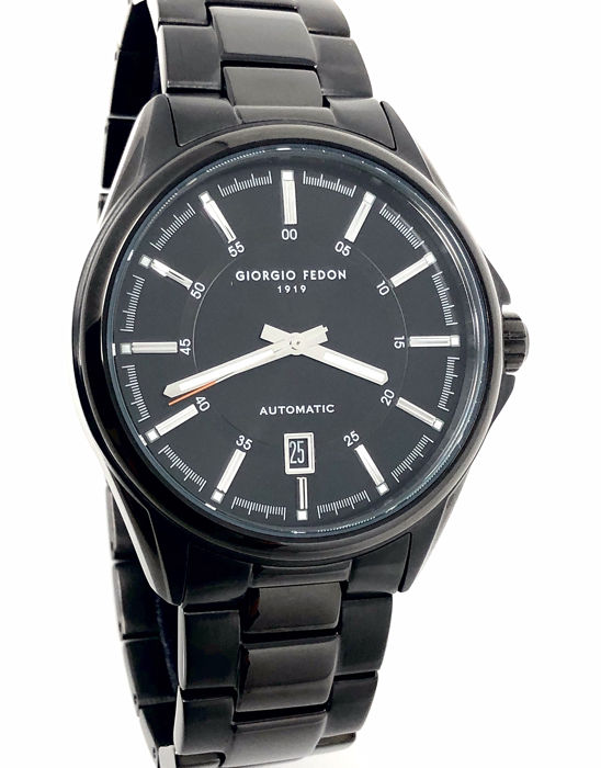 "Giorgio Fedon 1919 - Automatic Fedonmatic VI Black PVD ""NO RESERVE PRICE"" - GFBH006 - Men - BRAND NEW"