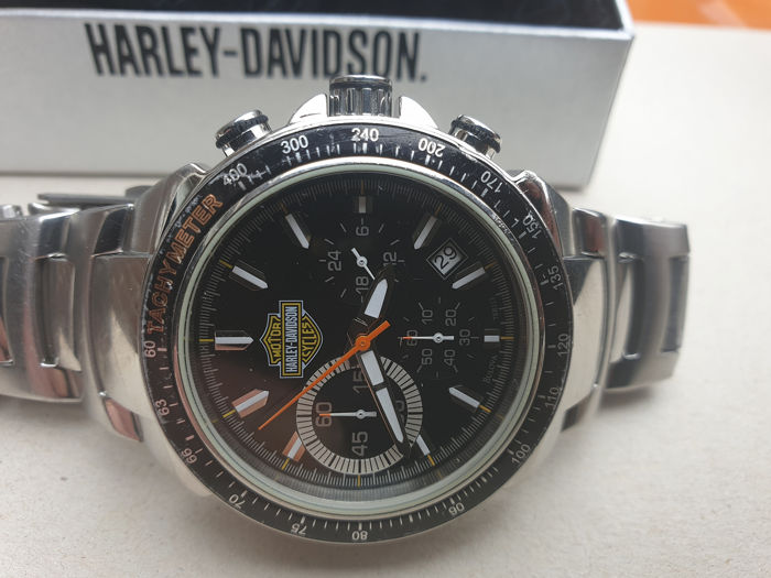 Horloge - Bulova Harley Davidson 41 mm Men's Chronograph Dress Watch  - 2011 (1 items)