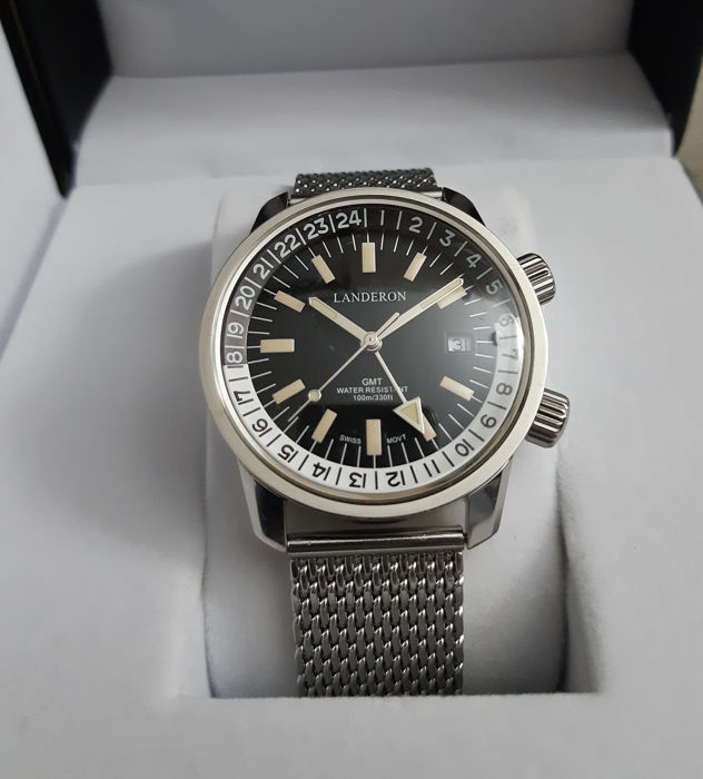 Landeron - Compressor GMT - Men - 2011-present