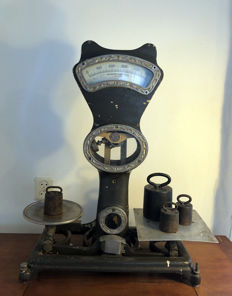 The Automatic Scale Company Of Manchester - Weegschaal - metaal, glas