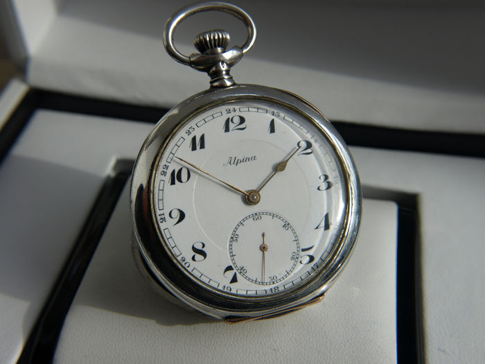 Alpina -  pocket watch NO RESERVE PRICE - 164031 - Άνδρες - 1901-1949