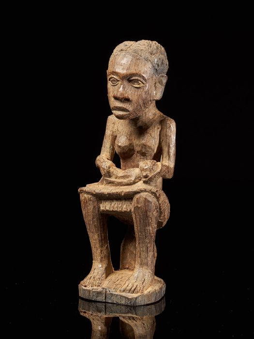 Statue(s) - Wood - Africa