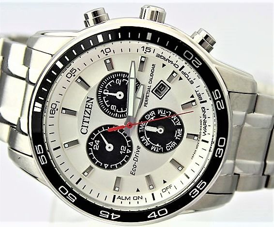 Citizen - ECO Drive Chronograph 'NO RESERVE PRICE'  - Perpetual Calendar - Men - 2011-present