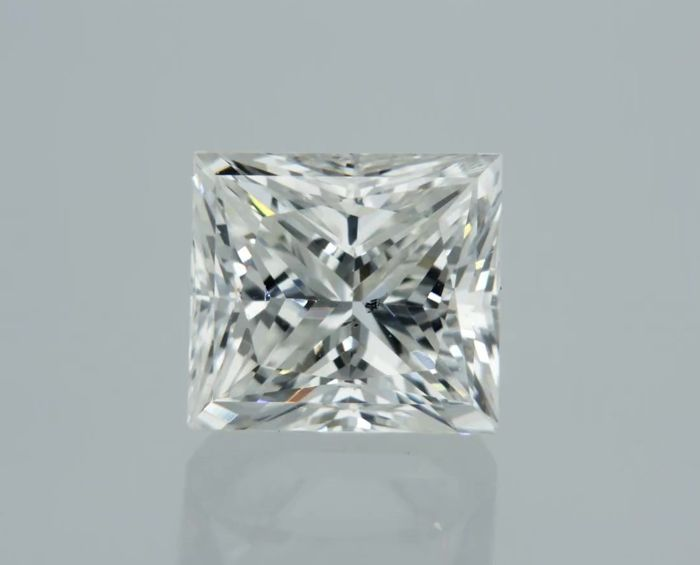 1 pcs Diamant - 0.97 ct - Prinses - F - VS1