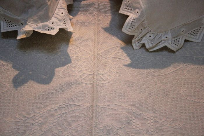 Embroidered Bed Covers (1) - Cotton - First half 20th century