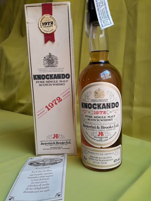 Knockando 1972 12 years old - 75 cl