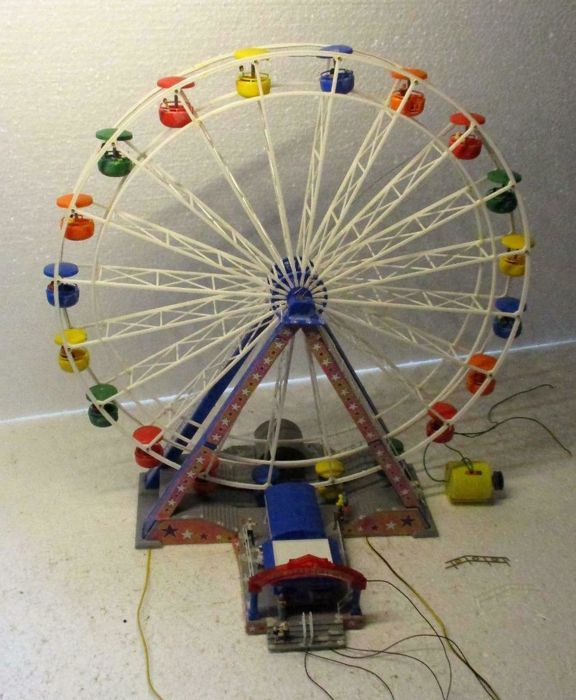 Faller H0 - 140312 - Scenery - Ferris wheel Fairground attraction Model Trains Model Trains, used for sale