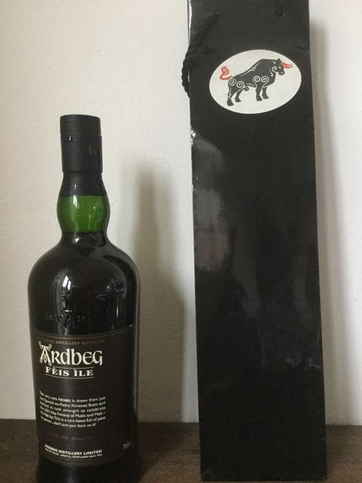 Ardbeg 1998 13 years old Feis Isle - Original bottling - b. 2011 - 70cl - 1200 flessen