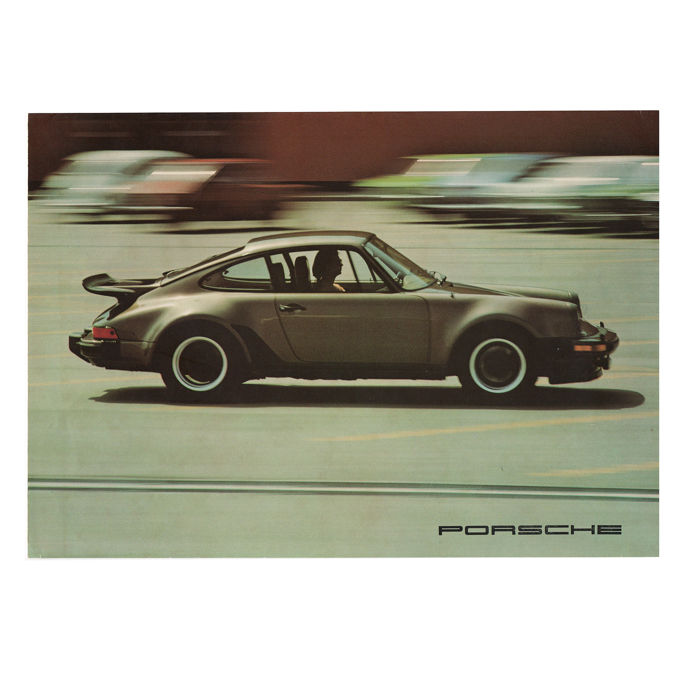 Brochures / Catalogi - Porsche 911 2.7 / Turbo / 912E - 1976