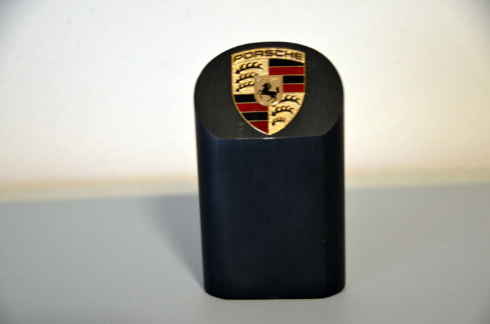 Decoratief object - PORSCHE Briefbeschwerer PYLON Black Edition - 2000-2005