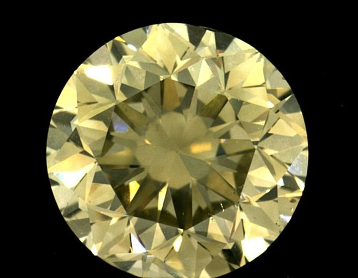 Diamante - 2.00 ct - Brillante - light yellow - SI2