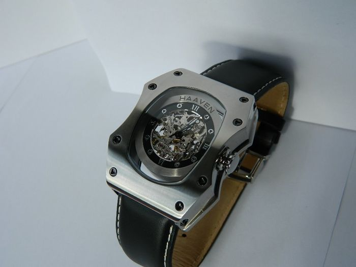 Haaven - 9672-01 Automatic Skeleton Full Set Stainless Steel - Hombre - 2011 - actualidad
