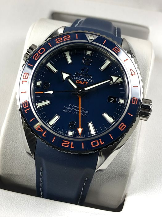 Omega -  Seamaster Planet Ocean GMT 600M Co-Axial 43,5 Automatic - 232.32.44.22.03.001 - Men - 2011-present