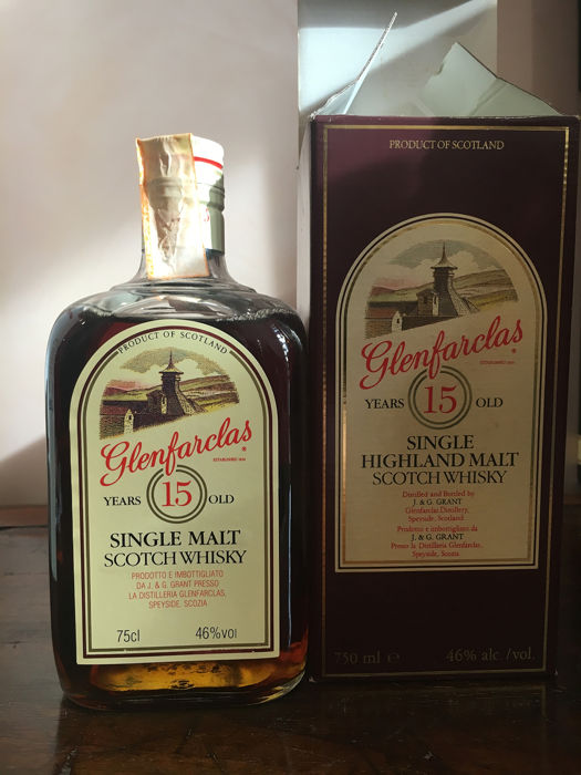 Glenfarclas 15 years old - b. Jaren 1980 - 75cl - 1 flessen