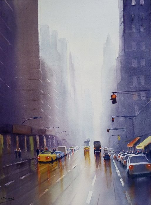 Paco Campos - Rainy day in NYC IV