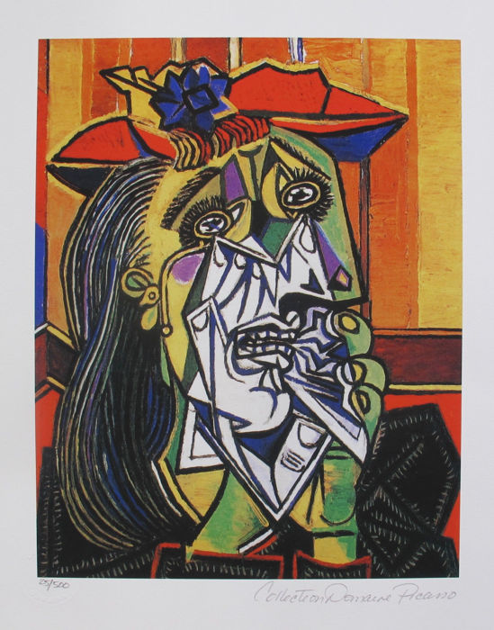 Pablo Picasso (after) - Weeping Crying.