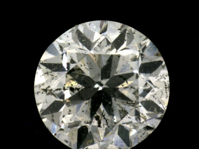Diamant - 0.90 ct - Brilliant - I - IGI Antwerp, SI2