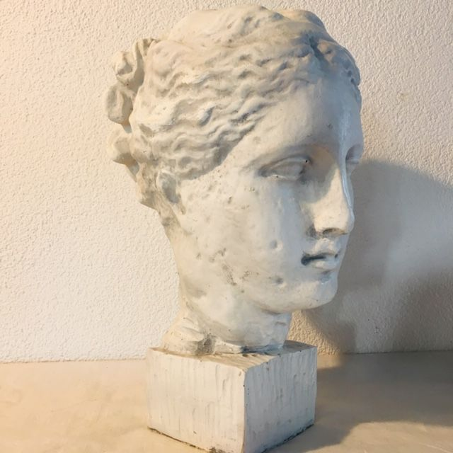 "Greek bust ""Athens"" - Resin/Polyester"