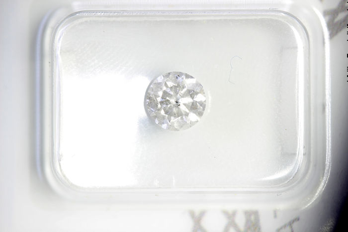 Diamant - 0.70 ct - Briljant - G - P2