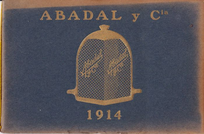 Brochures / Catalogi - Automovile Abadal y Cia - 1914 (1 items)