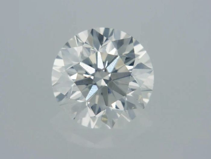 1 pcs Diamond - 0.79 ct - Round - D (colourless) - VS1