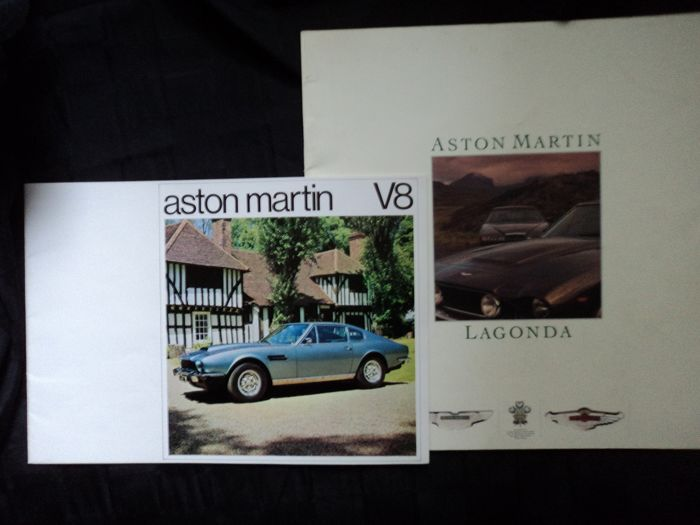 Brochures / Catalogi - Aston Martin - Lagonda - 1973-1986 (2 items)