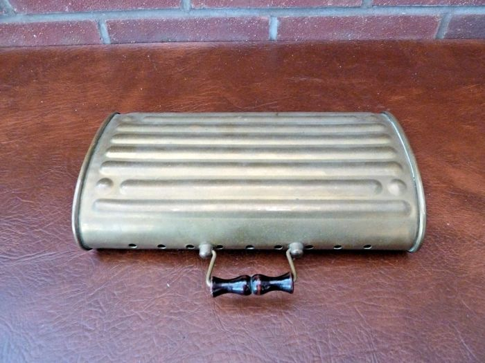 Onderdelen - Vintage Antique French Brass Foot Warmer For Classic Car / Carriage - 1920-1940 (1 items)