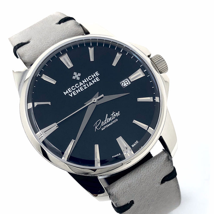 "Meccaniche Veneziane - Automatic Limited Edition Forte Marghera Ardesia Black - 1201012 "" NO RESERVE PRICE"" - Heren - BRAND NEW"
