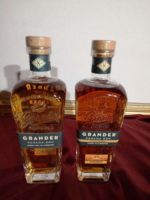 Grander 8 years old - Single Barrel (P1845) & 8 Years Old - 70 cl