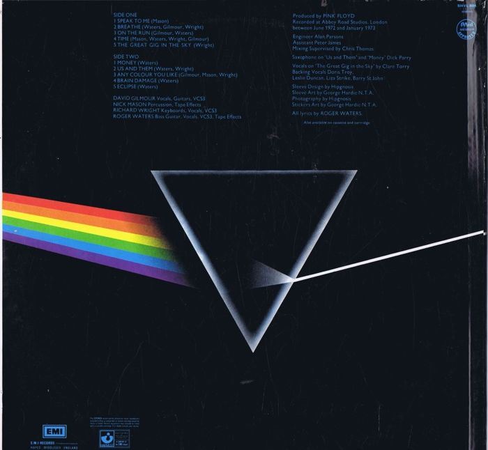 PINK FLOYD - The Dark Side Of The Moon (made in Philippines