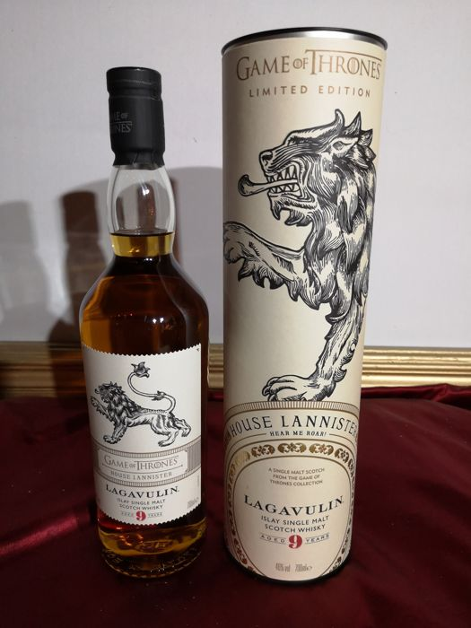 Lagavulin 9 years old limited edition game of thrones  house lannister - 0.7 Ltr