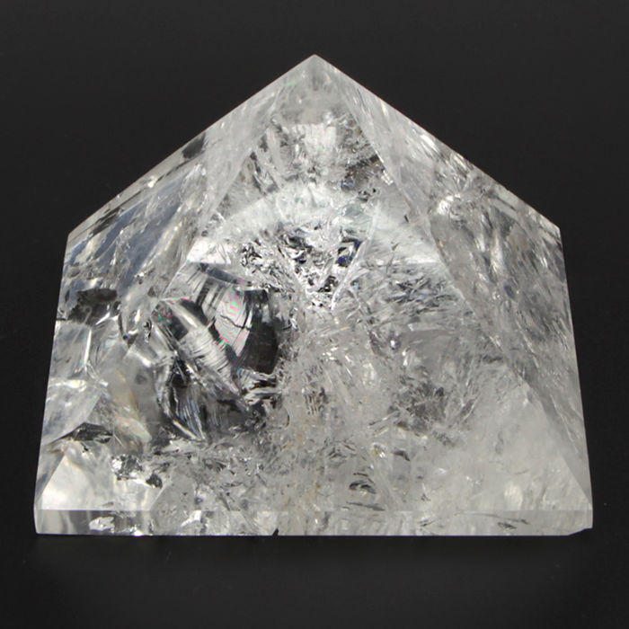 Quartz Pyramid - 63×85×85 mm - 464 g
