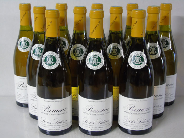 2001 Beaune (white) Maison Louis Latour  - Bourgogne - 12 Bottles (0.75L)