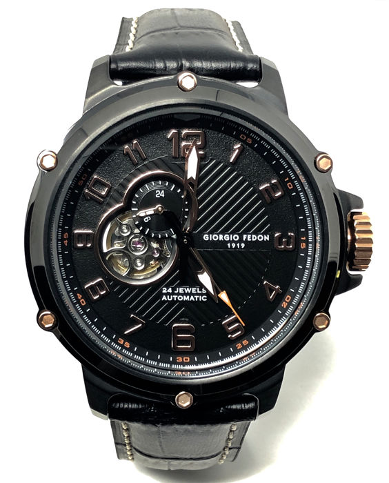 "Giorgio Fedon 1919 - Automatic Sport Utility III Rose Gold ""NO RESERVE PRICE"" - GFBV004 - Heren - Brand New"