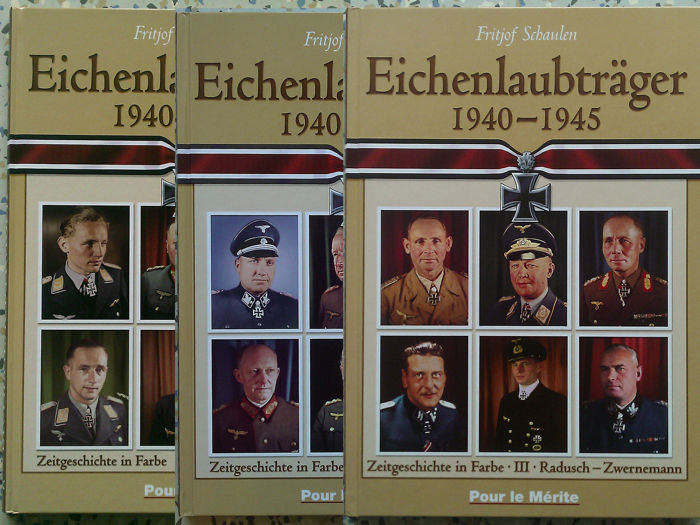 Germany - Trilogy - Oak Leaves 1940-1945 - 3 volumes - contemporary history in color - 2003