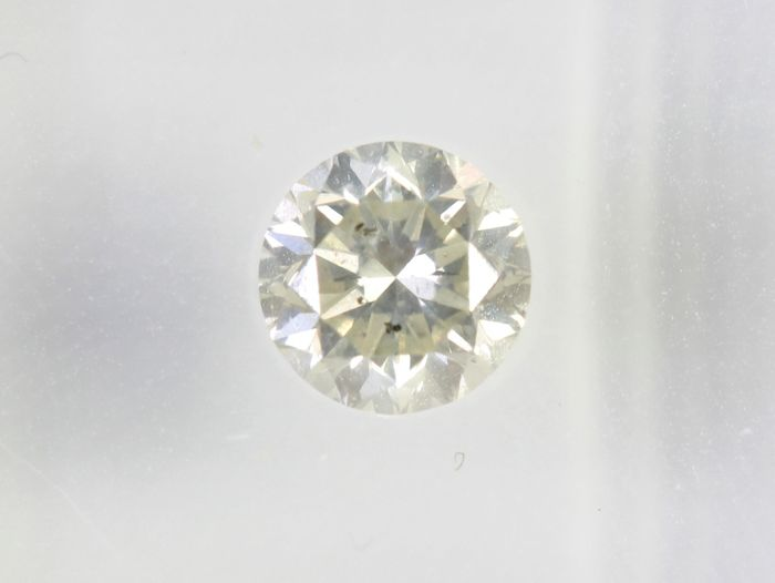 Diamond - 0.50 ct - Briliant - SI2 - * NO RESERVE PRICE *