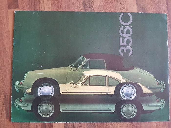 Brochures / Catalogi - PORSCHE / 356C - 1964-1964 (1 items)