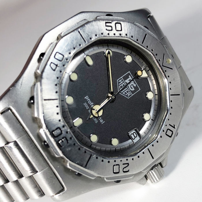 TAG Heuer - 3000 Series Professional 200m - Ref. 932.206 - Heren - 1990-1999