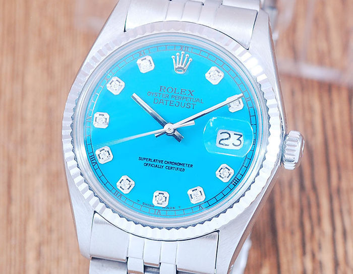 Rolex - Oyster Perpetual DateJust  - 1601 - Heren - 1970-1979