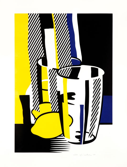 Roy Lichtenstein - 'Before the Mirror'