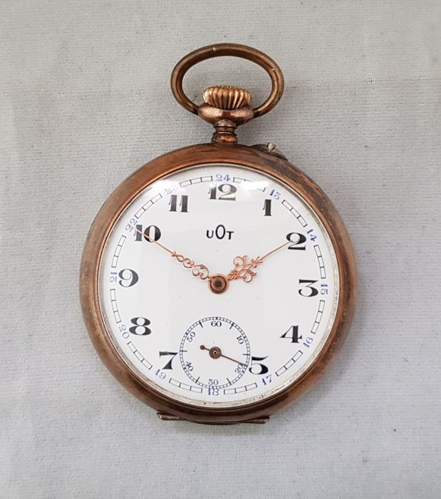 "UOT - 550 - FW. Arminia  -  pocket watch ""NO RESERVE PRICE"" - Män - '900"
