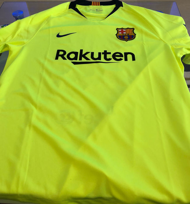 new style 5b326 3ea63 FC Barcelona - Spanish Football League - Lionel Messi - 2019 - Jersey -  Catawiki